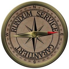 Bronce Kompass Rundum Service Garantiert