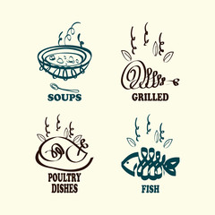 soups and grilled