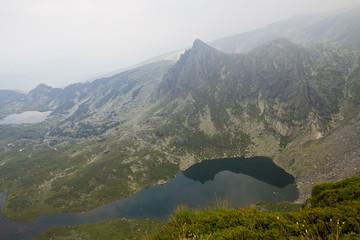 Mountains and mountain lakes in Bulgaria