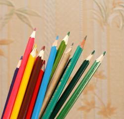 Colorful pensils