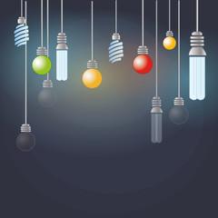 Light color bulbs
