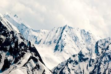 Mountainous landscape in Switzerland.