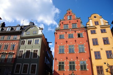 vielle ville à Stockholm