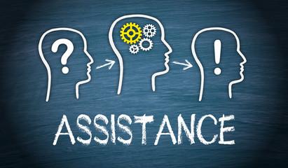 Assistance - Business Concept