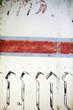 canvas print picture - Bemaltes Blech