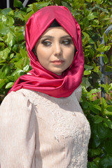 Muslim young woman