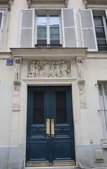 porte d'immeuble 4