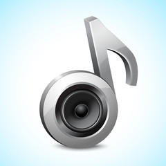 Audio speaker note