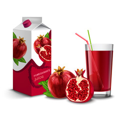 Pomegranate juice set
