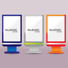 Billboard vector Eps 3
