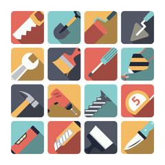 Home Repair Tools Icons