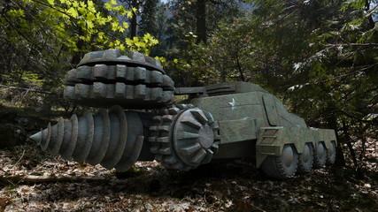ドリル戦車