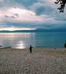 boy by the sea