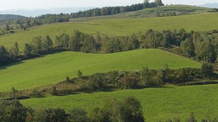 緑の丘の風景_2