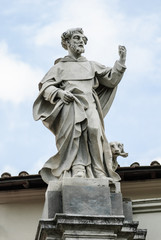 Statua di San Domenico, scultura in marmo