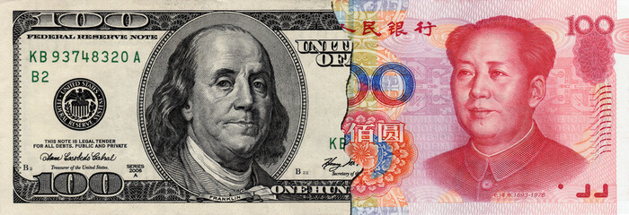half USD and half RMB