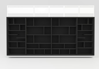 Black Book shelves