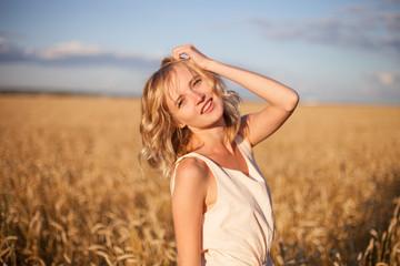 Young woman enjoying sunlight