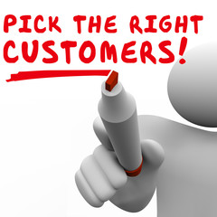 Pick the Right Customers Target Market Best Potential Audience
