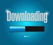 downloading search bar illustration design