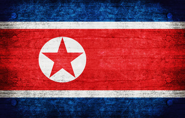 The National Flag of the North Korea