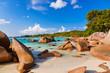 canvas print picture - Beach Anse Lazio - Seychelles