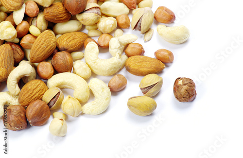 canvas print picture mixed nuts