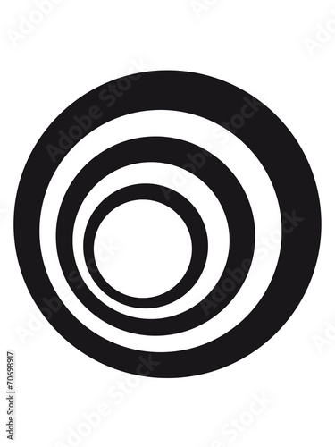 canvas print picture Kreis Ringe Logo