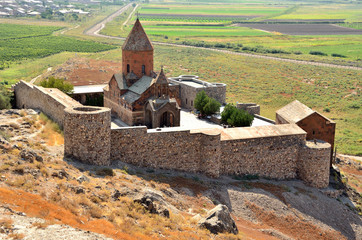 Армения, монастырь Хор Вирап