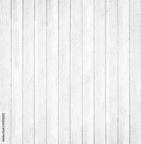 Foto op Canvas Hout White Wood Background
