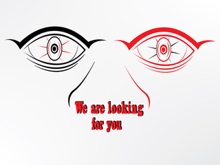 we are eye looking for you
