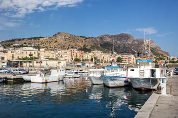 Santa Flavia Hafen Sizilien