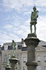 Petit Sablon in Brussels (Belgium)
