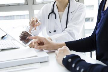 Patients undergoing described in tablet devices