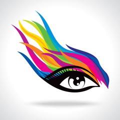 creative fashion eye
