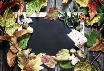 Herbst boten mit Copy Space
