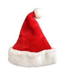 Single Santa Claus red hat