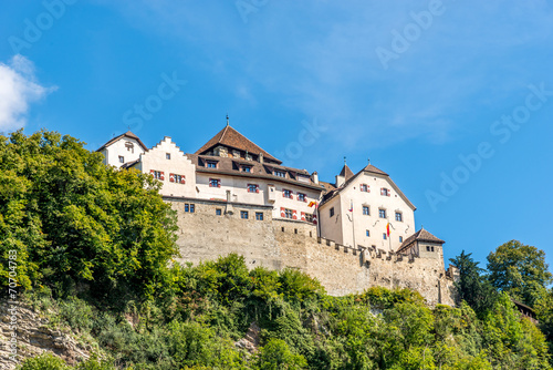 Vaduz castle in Lichtenstein - 70704783