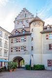 Townscape Of Feldkirch - Churer Tor poster