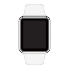 Isolated image of smart watch