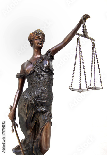 canvas print picture Justitia