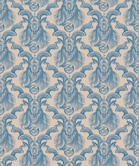 Repaint seamless pattern: wall wallpaper Capricorn