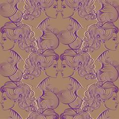 Repaint seamless pattern: Gemini