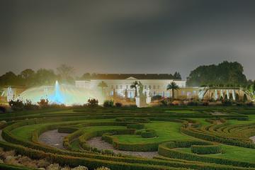 Schloss Herrenhäuser Gärten beleuchtet