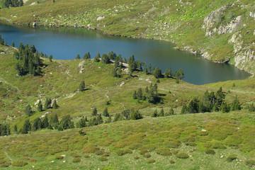 Etangs de Rabassoles,Pyrénées ariègeoises