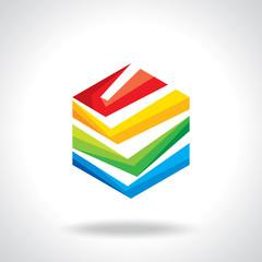 Colorful app icon set