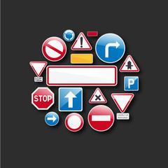 code de la route, signalisation