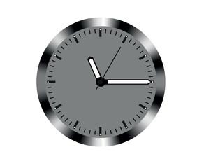 Metal design wall clock