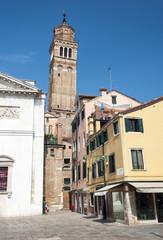 Piazza in Venice, Italy