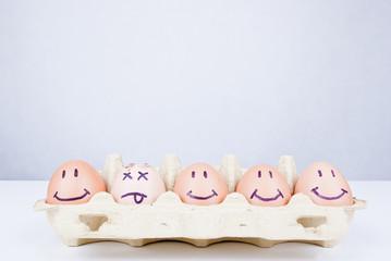 Eggs concept